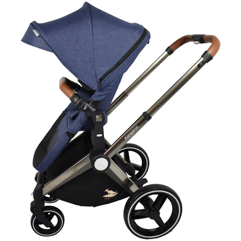 Venice Child Kangaroo Stroller (Blue)-Venice Child-Supreme Stroller