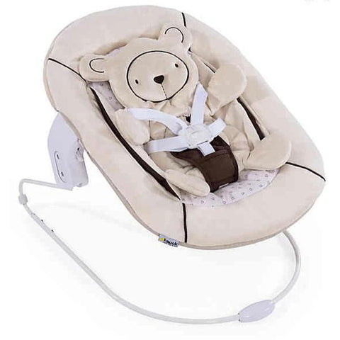 Hauck Alpha Bouncer 2-in-1 (Hearts Beige)-Bouncer-Supreme Stroller