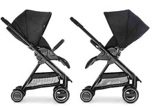 Hauck Polo Travel System Pryia Stroller and ProSafe 35 Carseat (Caviar)-Travel System-Supreme Stroller