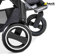 Hauck Micro Compact Stroller with Adaptors (Star Caviar)-Travel System-Supreme Stroller