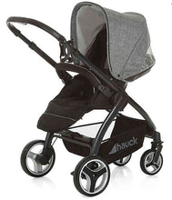 Load image into Gallery viewer, Hauck Polo Travel System Pryia Stroller and ProSafe 35 Carseat (Melange Grey)-Travel System-Supreme Stroller