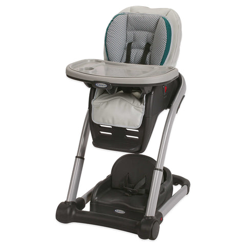 Graco Blossom 4-in-1 Convertible High Chair Seating System (Saphire)-High Chairs-Supreme Stroller