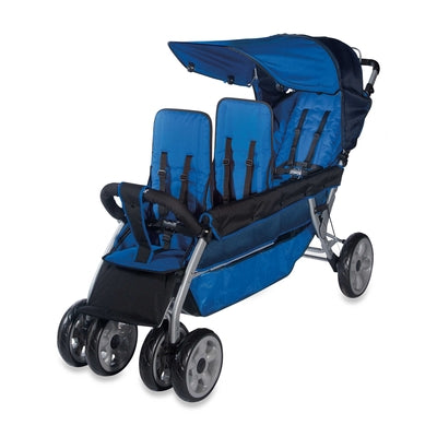 The LX3™ 3-Passenger Stroller-Foundations-Supreme Stroller