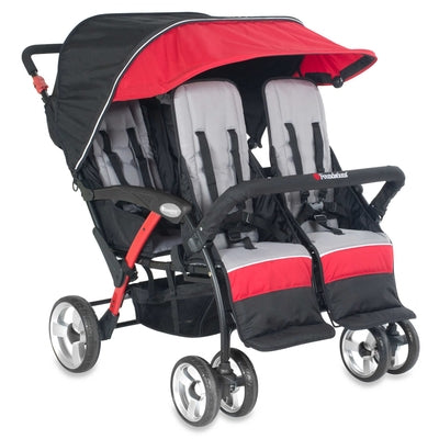 The Quad Sport™ 4-Passenger Stroller-Foundations-Supreme Stroller