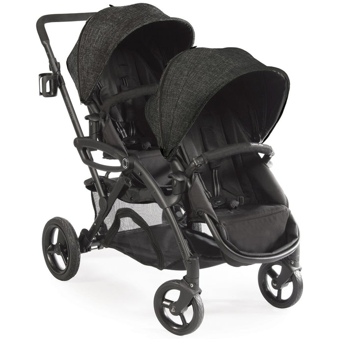 Contours Options Elite Tandem Double Stroller (Carbon Black)-Stroller-Supreme Stroller