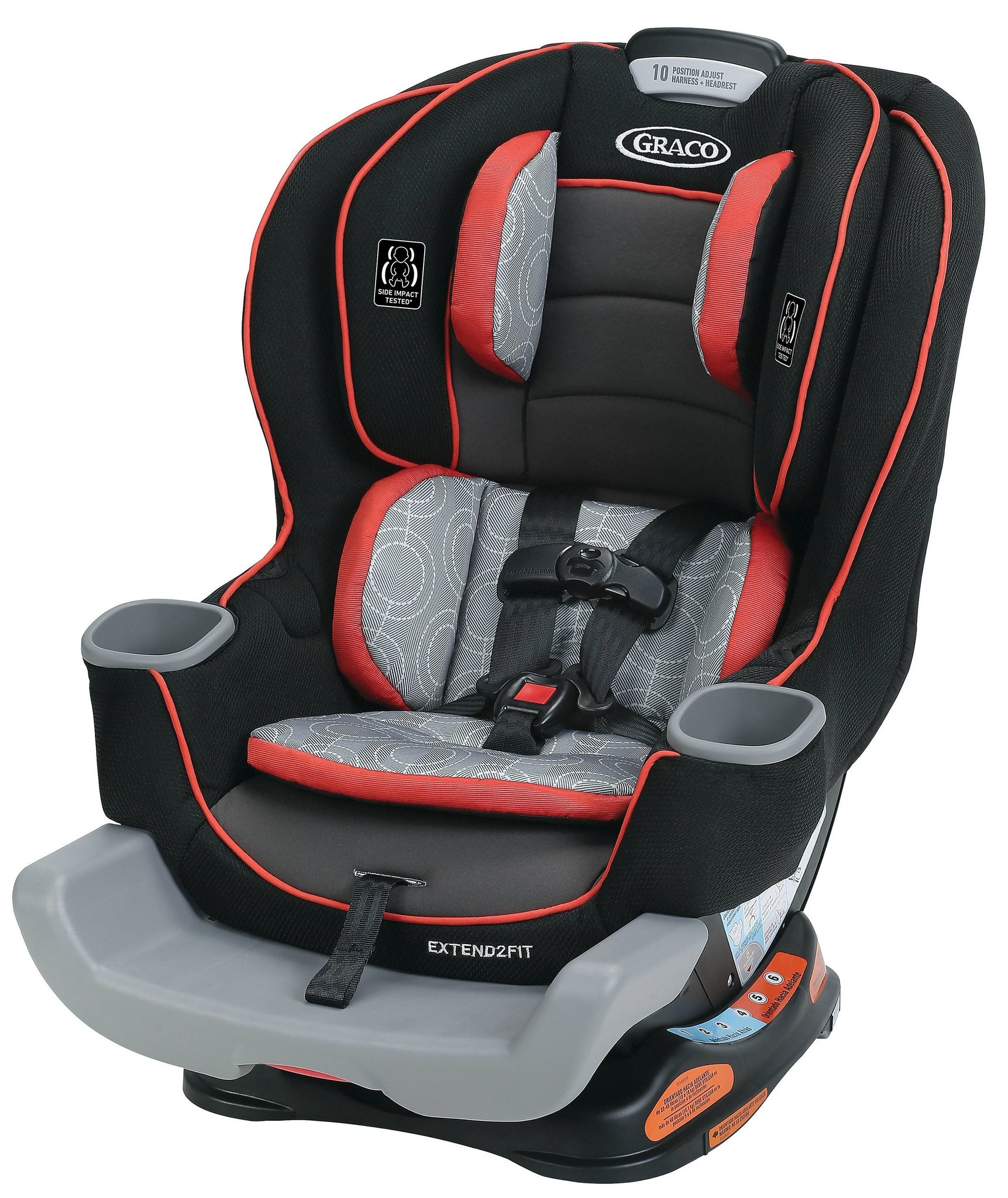 Buy Graco Extend2Fit Convertible Car Seat (Solar) Online ...