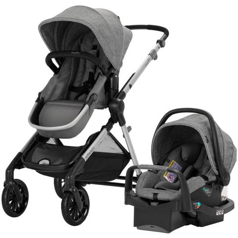 Evenflo Pivot Xpand Tandem Stroller with SafeMax (Percheron Grey)-Evenflo-Supreme Stroller