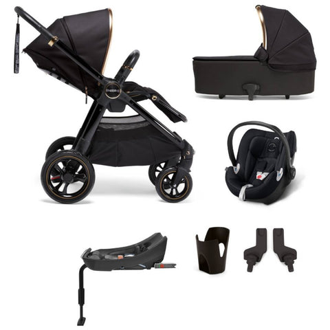 Mamas & Papas Ocarro All-Terrian 6-Piece Stroller Bundle (Black Diamond)-Stroller-Supreme Stroller