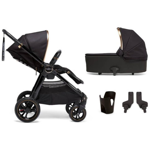 Mamas & Papas Ocarro All-Terrian 4-Piece Stroller Bundle (Black Diamond)-Stroller-Supreme Stroller