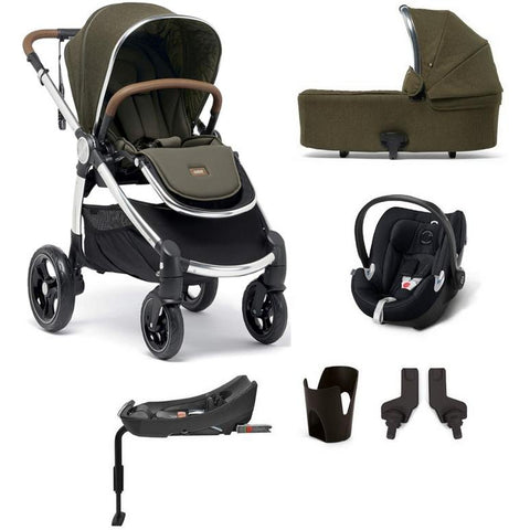 Mamas & Papas Ocarro All-Terrian 6-Piece Stroller Bundle (Khaki Explorer)-Stroller-Supreme Stroller