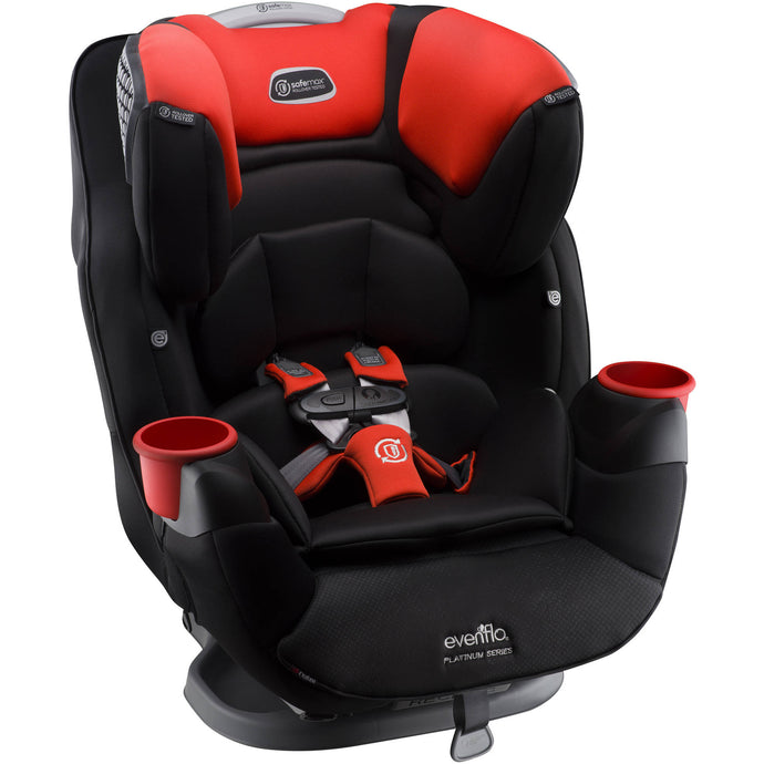Evenflo Platinum SafeMax™ All-in-One Convertible Car Seat (Mason)-Convertible Car Seat-Supreme Stroller