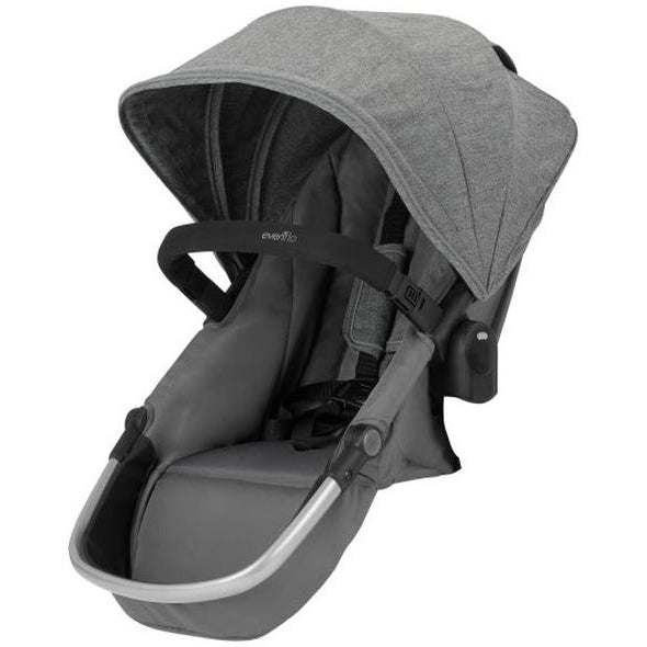 Evenflo Pivot Xpand™ Stroller Second Seat (Percheron Grey)-Stroller Accessory-Supreme Stroller