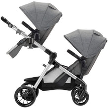 Load image into Gallery viewer, Evenflo Pivot Xpand Tandem Stroller with SafeMax (Percheron Grey)-Travel System-Supreme Stroller