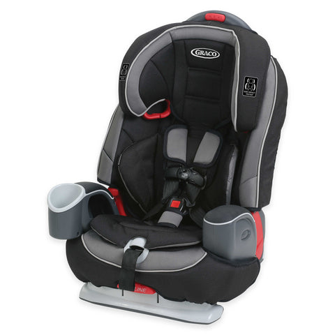 Graco Nautilus 65 LX 3-in-1 Harness Booster (Matrix)-Convertible Car Seat-Supreme Stroller