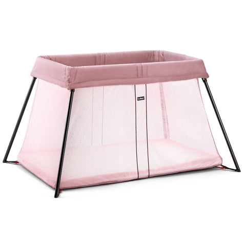 BABYBJÖRN Travel Crib Light (Pink)-Travel Crib-Supreme Stroller