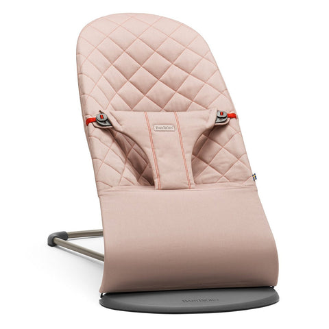 BABYBJÖRN Bouncer Bliss (Old Rose in Cotton)-Bouncer-Supreme Stroller
