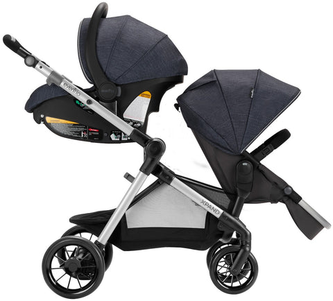 Buy Evenflo Pivot Xpand Tandem Stroller with SafeMax ...