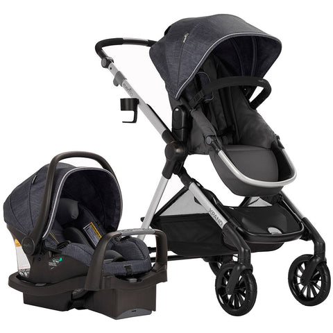 Evenflo Pivot Xpand Tandem Stroller with SafeMax (Stallion Black)-Evenflo-Supreme Stroller