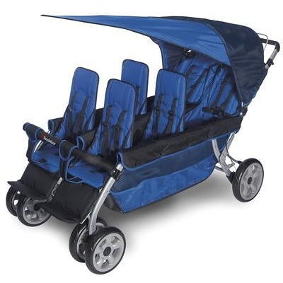 The LX6™ 6-Passenger Stroller-Foundations-Supreme Stroller