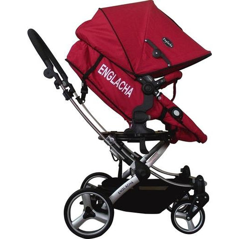 My Englacha Easy (Red)-Englacha-Supreme Stroller