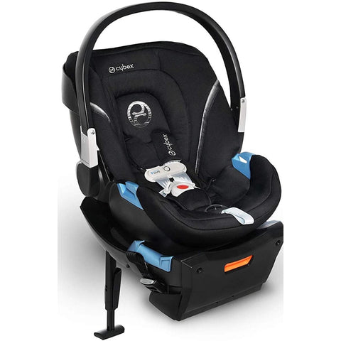 Cybex Aton 2 SensorSafe Infant Car Seat (Lavastone Black)-Infant Car Seat-Supreme Stroller