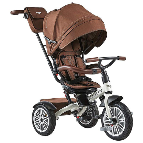 Bentley 6-in-1 Baby Stroller-Kids Trike (White Satin)-Stroller Trike-Supreme Stroller