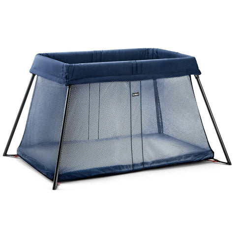 BABYBJÖRN Travel Crib Light (Dark Blue)-Travel Crib-Supreme Stroller
