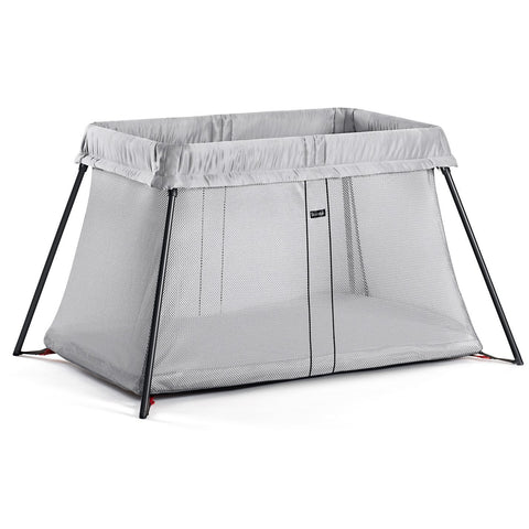 BABYBJÖRN Travel Crib Light (Silver)-Travel Crib-Supreme Stroller