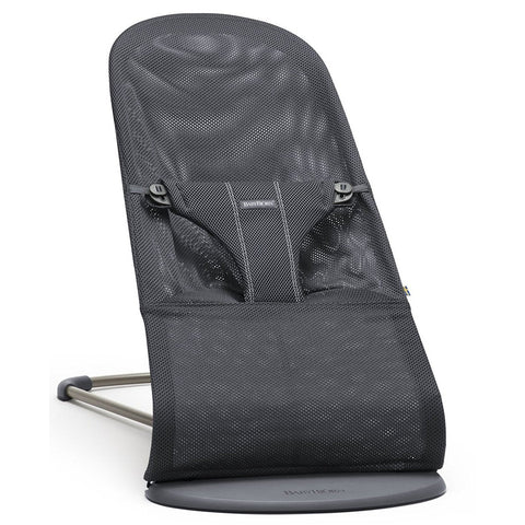 BABYBJÖRN Bouncer Bliss (Anthracite in Mesh)-Bouncer-Supreme Stroller