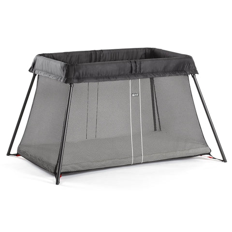 BABYBJÖRN Travel Crib Light (Black)-Babybjörn-Supreme Stroller