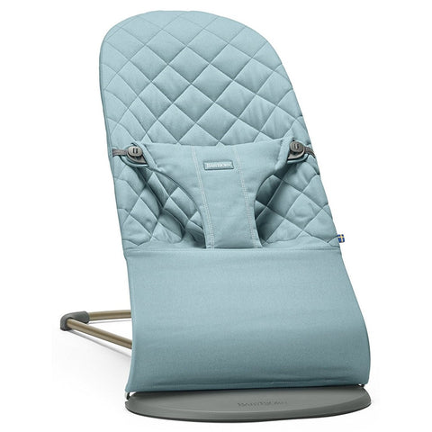 BABYBJÖRN Bouncer Bliss (Vintage Turquoise in Cotton) Be You '17-Bouncer-Supreme Stroller