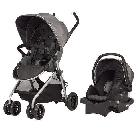 Evenflo Sibby Travel System With Litemax Ics Highline Grey