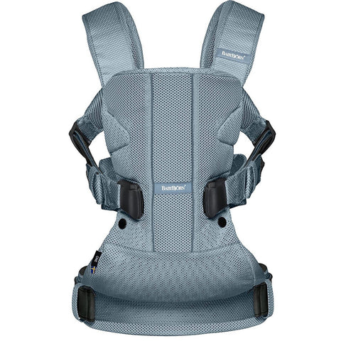 BABYBJÖRN Baby Carrier One Air (Dusk Blue, Mesh) Be You '17-Babybjörn-Supreme Stroller