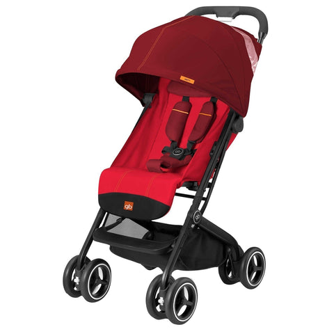 GB QBit Plus (Dragonfire Red)-Stroller-Supreme Stroller