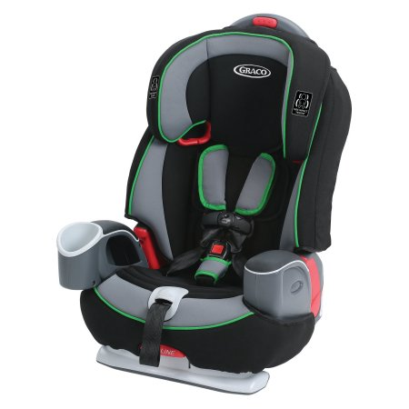 Graco Nautilus 65 LX 3-in-1 Harness Booster (Fern)-Convertible Car Seat-Supreme Stroller