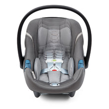 Cybex Aton M & SafeLock™ Base with SensorSafe™ (Manhattan Grey)-Infant Car Seat-Supreme Stroller