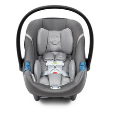 Load image into Gallery viewer, Cybex Balios S/Aton M with SensorSafe™ Travel System (Lavastone Black Denim)-Travel System-Supreme Stroller