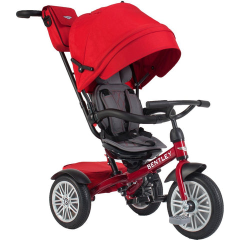 Bentley 6-in-1 Baby Stroller-Kids Trike (Dragon Red)-Stroller Trike-Supreme Stroller
