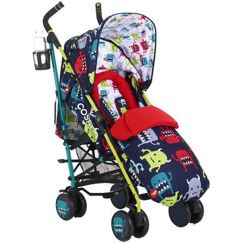 Supa Stroller - Cuddle Monster 2-Cosatto-Supreme Stroller