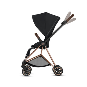 Cybex MIOS 3-in-1 Travel System w/ Chrome Brown Frame (Manhattan Grey)