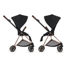 Cybex MIOS 3-in-1 Travel System w/ Chrome Brown Frame (Premium Black)