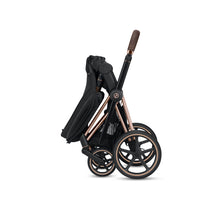 Cybex PRIAM 3-in-1 Travel System w/ Chrome Brown Frame (Fancy Pink)