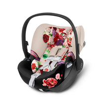 Cybex Cloud Q with SensorSafe™ Spring Blossom Infant Car Seat (Light Beige)