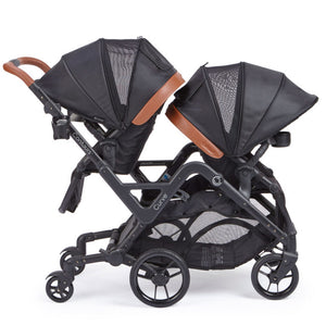 Contours Curve Tandem Double Stroller Exclusive Edition (Jet Black)