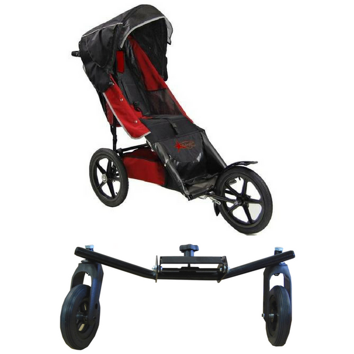 Adaptive Star Axiom Improv Push Chair Size 3 With Swivel Wheel-Stroller-Supreme Stroller