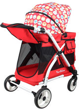 Wonderfold MJ01 Chariot Mini Stroller Wagon (Red)-Stroller Wagon-Supreme Stroller