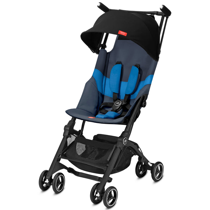GB Pockit+ All-Terrain (Night Blue)-Stroller-Supreme Stroller