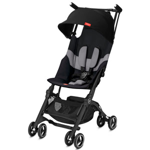 GB Pockit+ All-Terrain (Velvet Black)-Stroller-Supreme Stroller