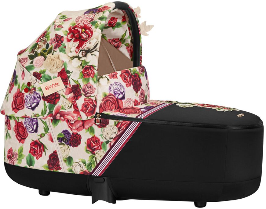 Cybex PRIAM Lux Carry Cot Spring Blossom (Light Beige)