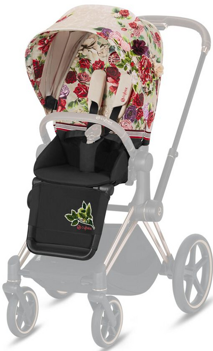 Cybex Priams Spring Blossom Seat Pack (Light Beige)